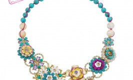 jardin majorelle statement necklace